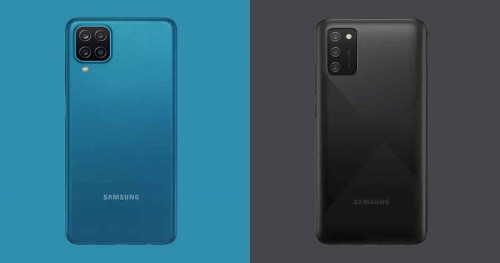 The Galaxy A12 and Galaxy A02s are Samsung's cheapest phones