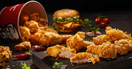 To chill on holiday with KFC ...