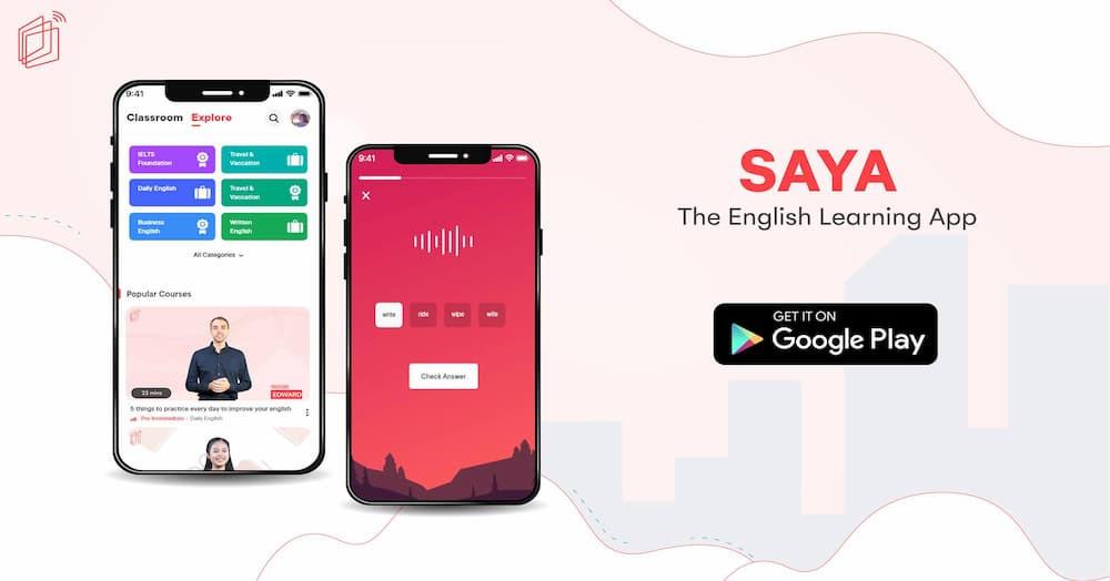 SAYA: The English Learning App