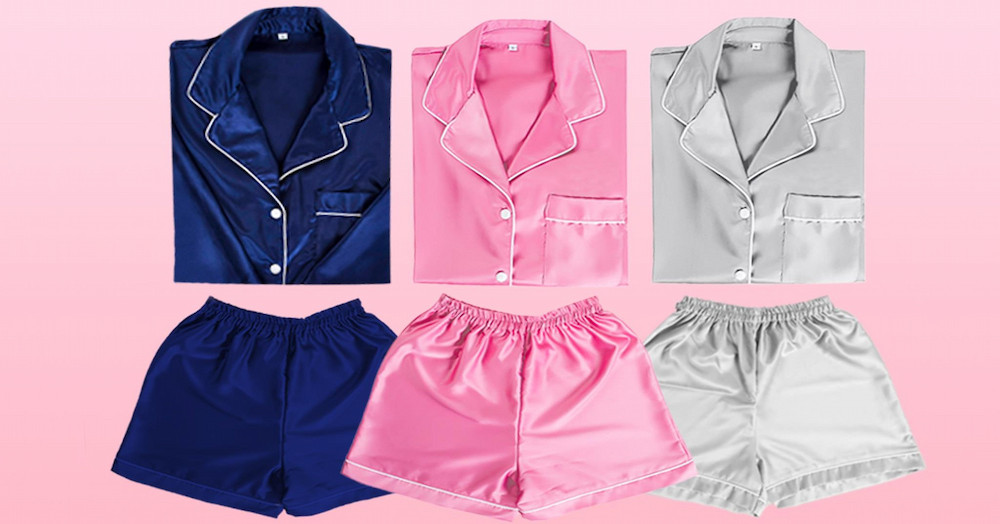 """Local nightwear brand """"BBG"""" with very youthful designs that are very comfy."""