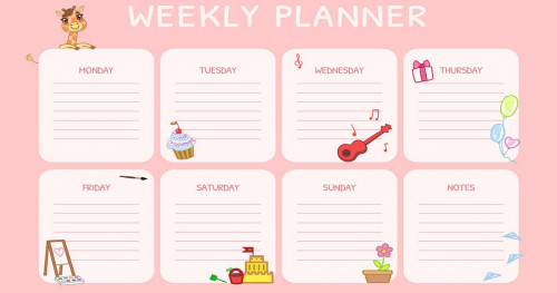 We will make a planner without running out of money