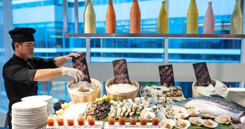 Restaurants in Meliá Yangon with Monsoon Promotion