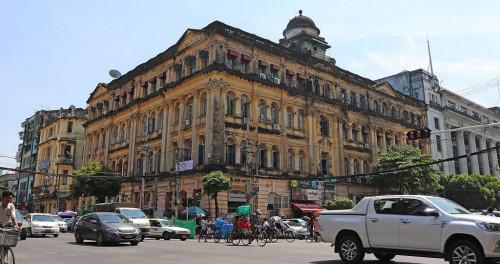 Five Ancient Colonial Buildings in Yangon