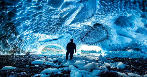 The most beautiful ice caves in the world