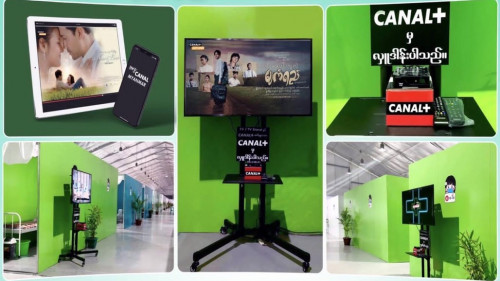 CANAL +, which provides free TV channels to entertain quarantine visitors