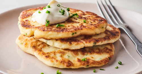 Korean style pancakes are easy to make