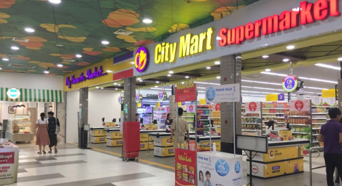 Insein Citymart will be temporarily closed due to an employee infection