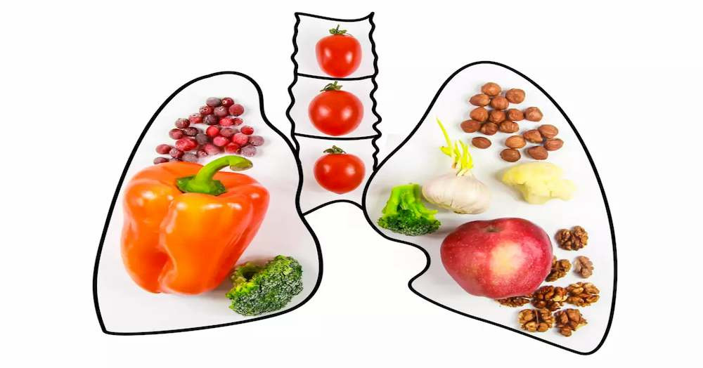 Foods that will strengthen and cleanse your lungs