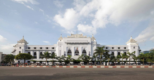 Yangon City Hall, an 80-year-old archeological site
