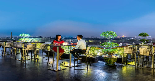The Best (7) Rooftop Bars In Yangon