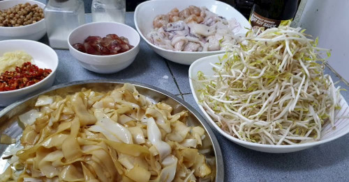 You can easily make delicious Myeik Scissors at home